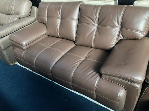 Jewel Brown Endurance Leather Suite